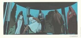 786.  DESBERG - RECULE   CASSIO - Illustratoren D - F