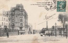 75020 PARIS - La Rue Pelleport à L' Avenue Gambetta - Arrondissement: 20