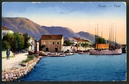 Teodo, Tivat, 27.3.1915 (Risan), Feldpost K.u.k.Militär-Verpflegs.... In Risan, Zensuriert, Bucht Kotor, Rocco Vukovic - Montenegro