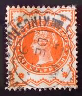 VICTORIA 1887/900 - OBLITERE - YT 91 - MI 86 (ORANGE) - 1840-1901 (Victoria)