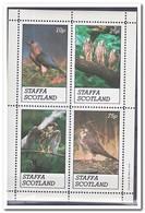 Staffa 1981, Postfris MNH, Birds Of Prey - Regionale Postdiensten