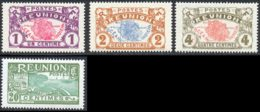 Reunion 1907 Yvert 56 / 58 - 62 ** TB - Réunion (1852-1975)