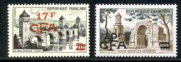 Reunion 1957 Yvert 339 / 340 ** TB - Réunion (1852-1975)