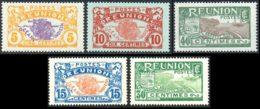 Reunion 1928 Yvert 84 - 86 - 91 - 109 - 110 ** TB Coin De Feuille - Réunion (1852-1975)