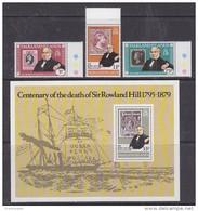 Falkland Islands 1979 Sir Rowland Hill 3v + M/s   ** Mnh (42543) - Falklandeilanden