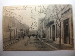 Carte Postale Marseille - Les Olives (13) L'Entrée Du Village (Petit Format Oblitérée 1915 ) - Autres