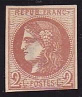 N° 40B Neuf (*) - Voir Verso & Descriptif - - 1870 Emission De Bordeaux