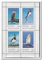 Staffa 1981, Postfris MNH, Birds, Owls - Regionale Postdiensten