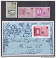 British Virgin Islands 1979 Sir Rowland Hill 3v + M/s ** Mnh (42544) - Britse Maagdeneilanden