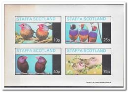 Staffa 1981, Postfris MNH, Birds - Regionale Postdiensten