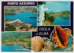 ISOLA  D' ELBA  (LI)    PORTOAZZURRO    VEDUTE               (NUOVA) - Italia