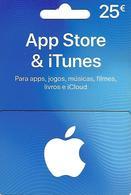 PORTUGAL - Gift Card - App Store & ITunes 25€ - Tarjetas De Regalo