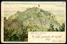 Zbiroh, Zriceniny Zbiroha, 1901, Rokycany, Pilzensy Kraj,  Jiranek, Turnov - Tschechische Republik