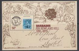 Barbados 1979 Sir Rowland Hill M/s  ** Mnh (42547) - Barbados (1966-...)