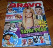 Madonna Britney Spears Justin Timberlake -  BRAVO Serbian August 2008 VERY RARE - Magazines
