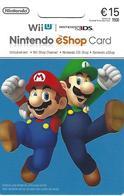 PORTUGAL - Gift Card - Nintendo EShop Card 15€ - Tarjetas De Regalo