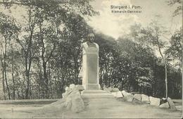 STARGARD I. POM. - Bismarck-Denkmal. - Pologne