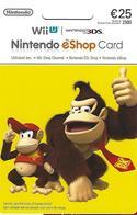 PORTUGAL - Gift Card - Nintendo EShop Card 25€ - Gift Cards