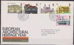Grossbritannien 1975 MiNr.673 - 677 FDC Europäisches Denkmalschutzjahr ( D 2665 )günstige Versandkosten - FDC