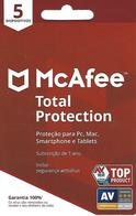 PORTUGAL - Gift Card - McAfee 5 - Cartes Cadeaux