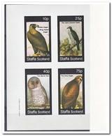 Staffa 1982, Postfris MNH, Birds, Birds Of Prey - Regionale Postdiensten