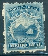 Costa Rica - 1862 - Yt 1 - Armoiries - Obl. - Costa Rica