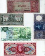 Ot De 5 Billets De Bolivie - Brésil Et Argentine - - Other - America