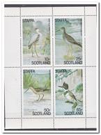 Staffa, Postfris MNH, Birds - Regionale Postdiensten