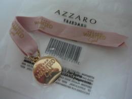 "AZZARO "" WANTED GIRL""  BRACELET NEUF SOUS BLISTER  LIRE ET VOIR!! - Unclassified"