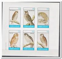 Staffa 1982, Postfris MNH, Birds, Owls - Regionale Postdiensten