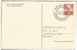 GROENLANDIA TP 1948 CON MMAT PEARYLAND EXPEDITION ARTICO ARCTIC NORTH POLE POLAR - Expediciones árticas