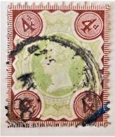 REINE VICTORIA 1887/900 - OBLITERE - YT 97 - MI 92 - 1840-1901 (Victoria)