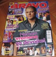 Madonna Wentworth Miller -  BRAVO Serbian June 2008 VERY RARE - Magazines