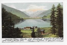 Davosersee - Tobler 1496  - Undivided Back - GR Grisons