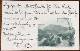 1898 UN SALUTO DA CAPRI / NAPOLI - Italia