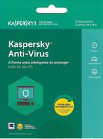 PORTUGAL - Gift Card - Kaspersky Anti-Virus - Gift Cards