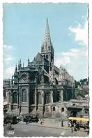 14 Caen L'Eglise Saint Pierre Et La Place (2 Scans) - Caen