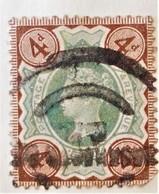 REINE VICTORIA 1887/900 - OBLITERE - YT 97 - MI 92 - VARIETE DE TEINTE - 1840-1901 (Victoria)