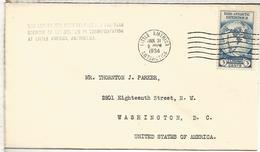 ESTADOS UNIDOS USA 1934 EXPEDICION BYRD A LA ANTARTIDA ANTARCTIC SOUTH POLE LITTLE AMERICA - Expediciones Antárticas