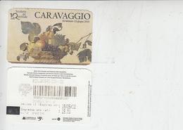 Scoderie Del Quirinale - CARAVAGGIO - Biglietti D'ingresso