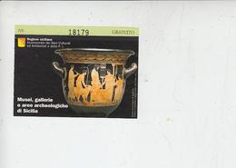 AGRIGENTO - Museo Archeologico (Cratere V Secolo A.C.) - Biglietti D'ingresso