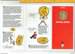 MG E - Medaille BOB ET BOBETTE - SUSKE EN WISKE 1945-1995 - Other