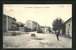 CPA Privas, Place Des Prisons Et L` Abattoir - Privas