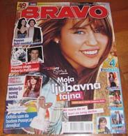 Miley Cyrus Lady Gaga Taylor Swift -  BRAVO Serbian May 2009 VERY RARE - Magazines