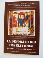 BARI  1992  SETTIMANA LITURGICA   ARCIDIOCESI BITONTO    EVENTO MANIFESTAZIONE CARTOLINA NO VIAGGIATA - Manifestazioni