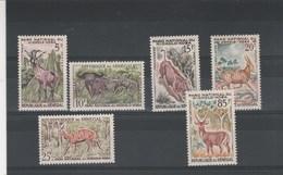Sénégal Yvert Série 198 à 203 ** Parc Niokolo Koba - Animaux - Sénégal (1960-...)