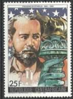 "Centrafrique YT 754 "" Frédéric Bartholdi "" 1986 Neuf** - Central African Republic"