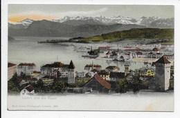 Luzern Und Die Alpen - Goetz  - Undivided Back - LU Lucerne