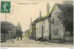 10.  JESSAINS . Grande Rue . - France