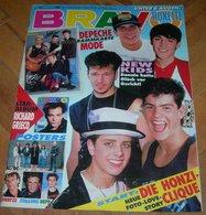 New Kids On The Block NKOTB Richard Grieco Roxette  BRAVO German April 1991 RARE - Magazines